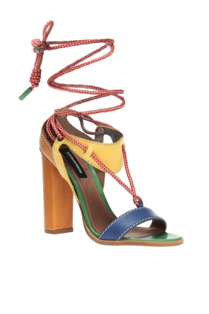 'yukon' block heel sandals od Dsquared2
