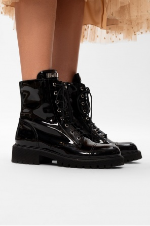 Leather ankle boots od Giuseppe Zanotti