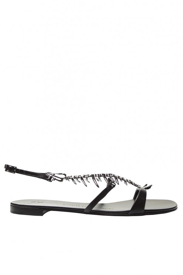 0e005f2ff973e Fish-bone Sandals Giuseppe Zanotti - Vitkac shop online