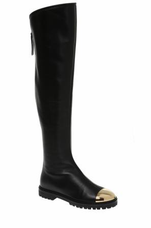 'grande' leather over-the-knee boots od Giuseppe Zanotti