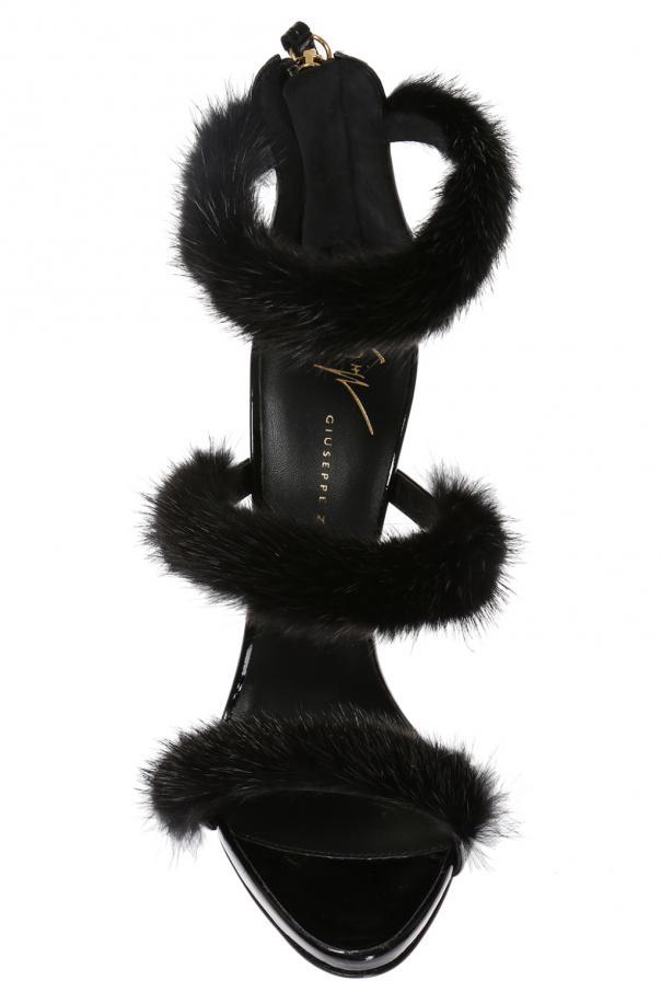 66e34f3d9e608 Harmony Winter' heeled sandals Giuseppe Zanotti - Vitkac shop online