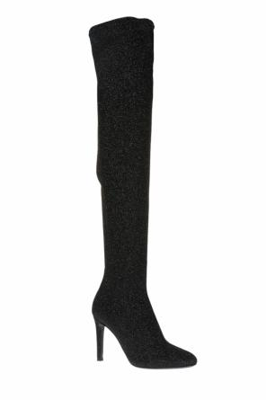 'felicity' over-the-knee boots with sock od Giuseppe Zanotti