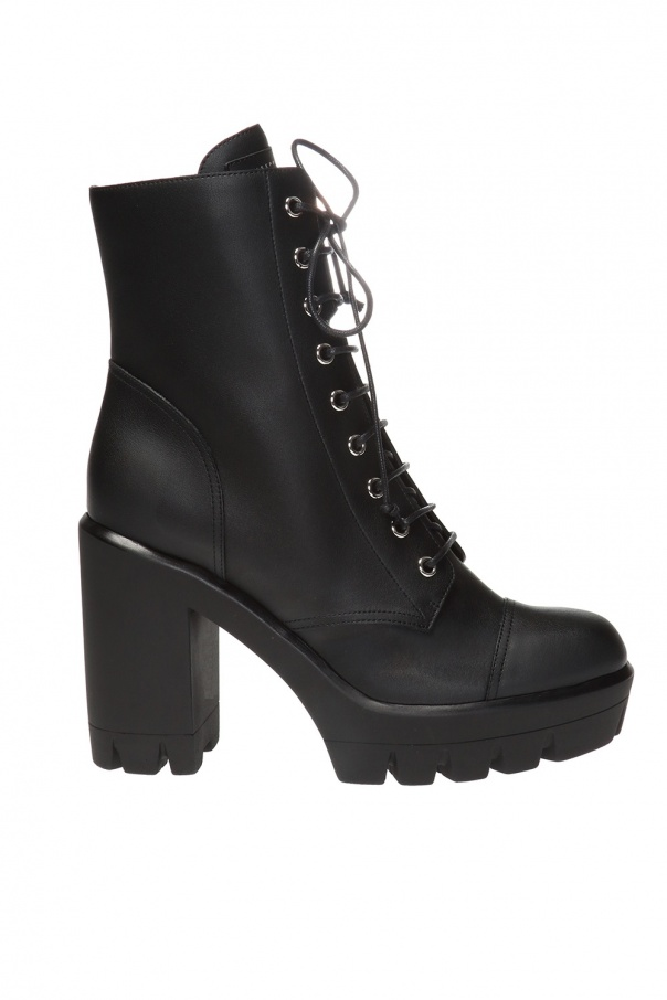 Giuseppe Zanotti Leather heeled ankle boots