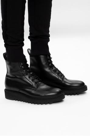 'nevada' leather ankle boots od Giuseppe Zanotti