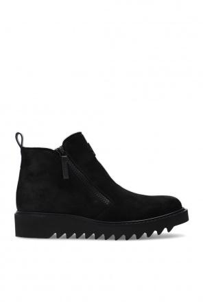 'nevada' suede ankle boots od Giuseppe Zanotti