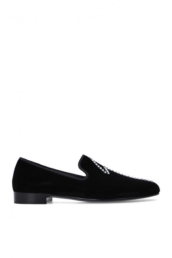 Giuseppe Zanotti 'Kevin' velvet loafers