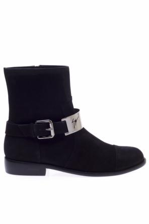 Suede ankle boots od Giuseppe Zanotti