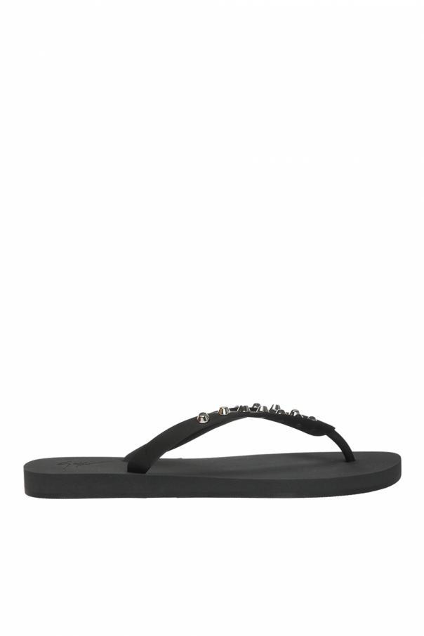 detailed images low price cute Studded flip-flops Giuseppe Zanotti - Vitkac Sweden