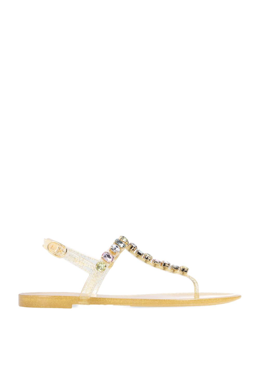 Stuart Weitzman 'Jaide Gem Jelly' sandals