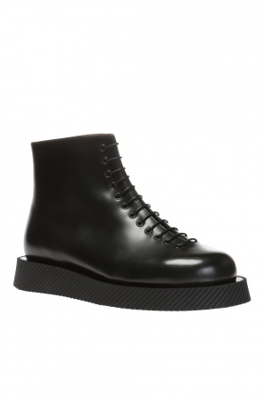 Lace-up ankle boots od JIL SANDER