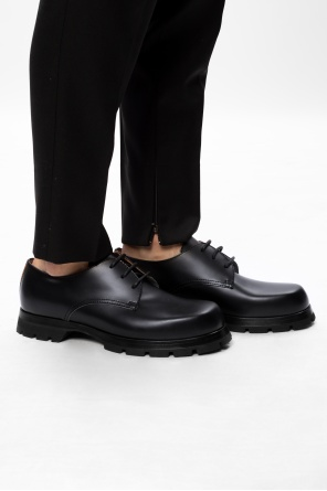 Leather derby shoes od JIL SANDER