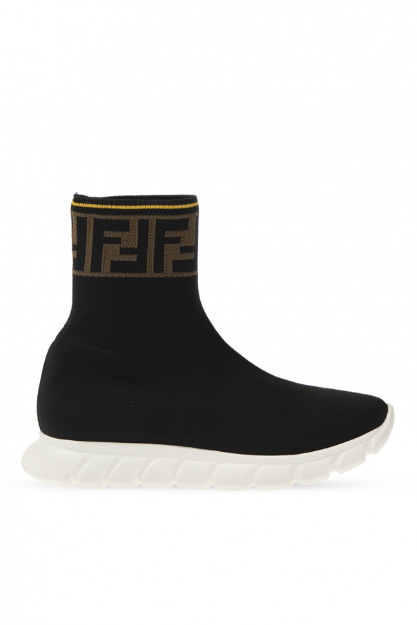 Fendi Kids Sneakers with sock