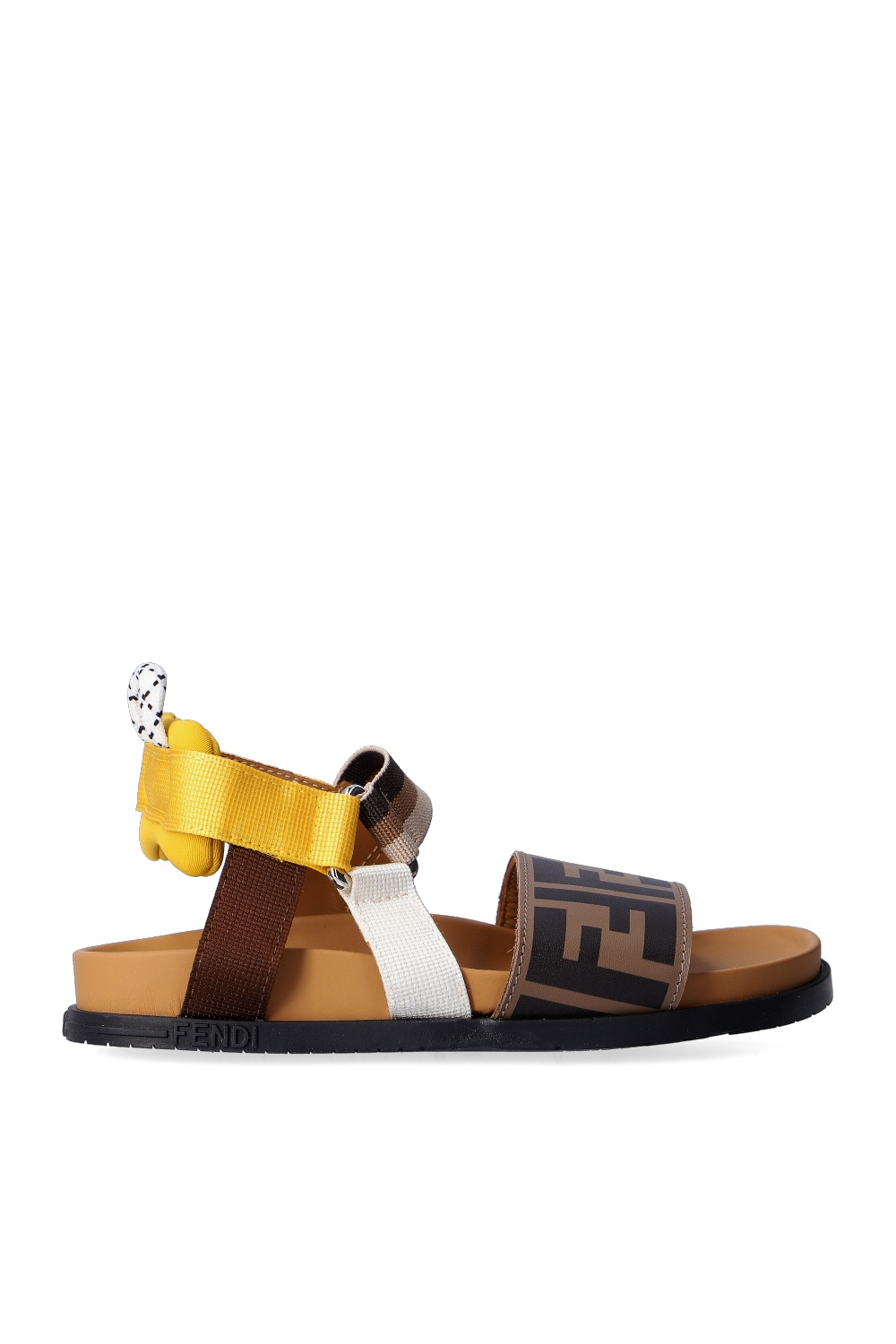 Fendi Kids Sandals with logo