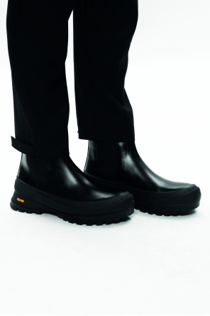 Leather chelsea boots od JIL SANDER
