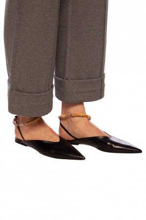 Leather shoes with pointed toe od JIL SANDER