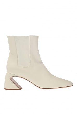 Leather ankle boots od JIL SANDER