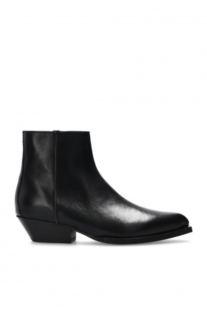 'jun' suede ankle boots od Jimmy Choo
