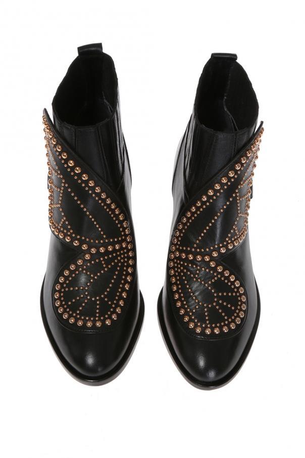 42ec9dd8c37 Karina Butterfly  heeled ankle boots Sophia Webster - Vitkac shop online