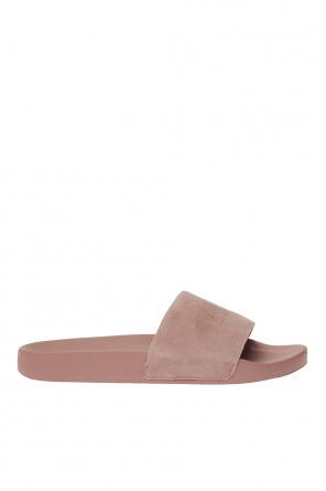 'karli' leather slides od AllSaints
