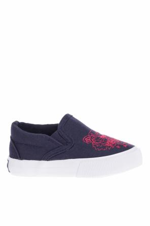 Slip-on sneakers with logo od Kenzo Kids