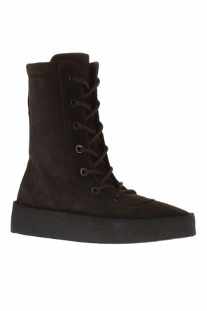 Lace-up ankle boots od Yeezy