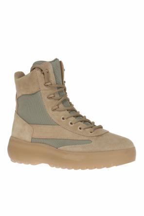 Suede boots od Yeezy