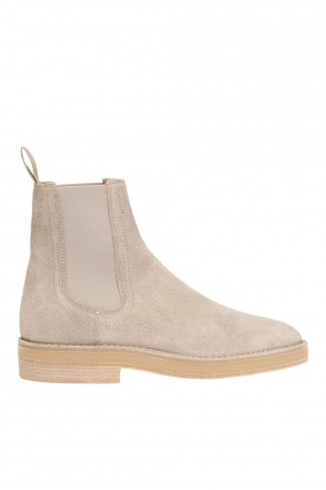 Suede ankle boots od Yeezy