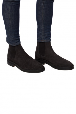 e8b210d2b42f7 Suede chelsea boots od Yeezy ...