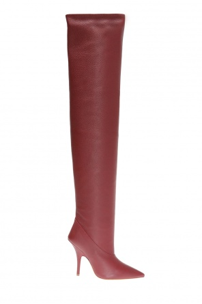 Heeled over-the-knee boots od Yeezy