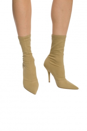 Pointed toe heeled boots od Yeezy