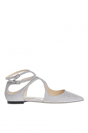 'lancer flat' cut-out shoes od Jimmy Choo