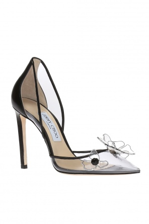 'levina' transparent pumps od Jimmy Choo