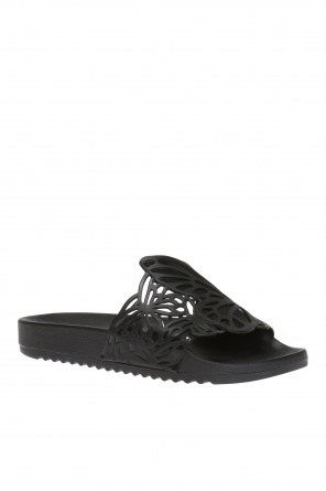 'lia' openwork slides od Sophia Webster