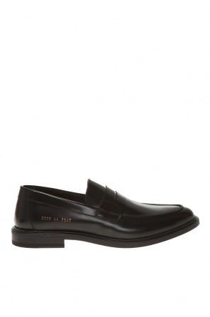 Leather loafers od Common Projects