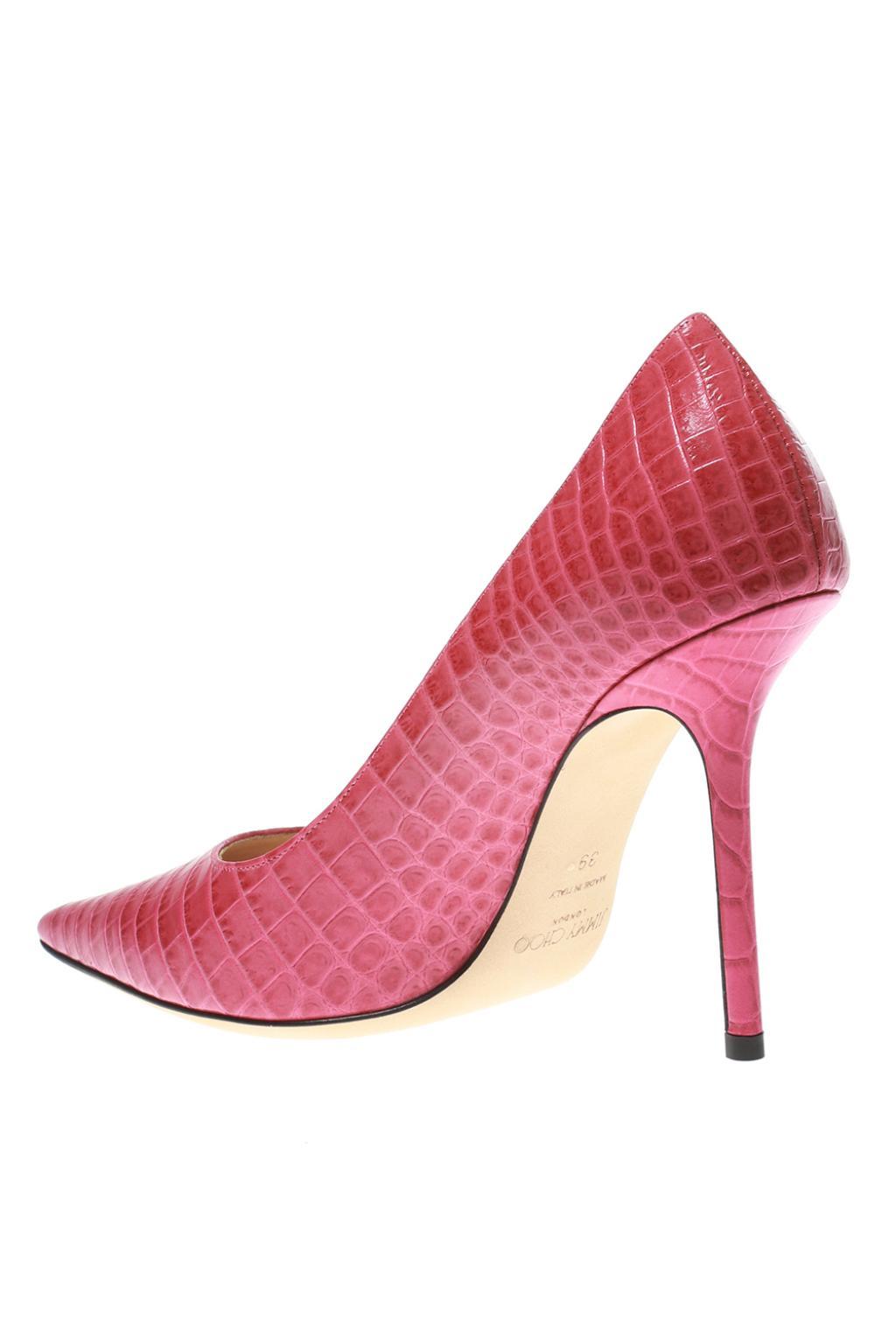Jimmy Choo 'Love' leather stiletto pumps