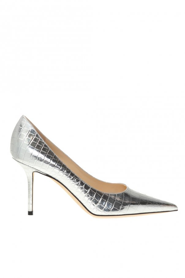 Jimmy Choo 'Love' leather stiletto pumps