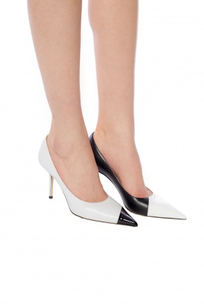 'love' pointed toe stiletto pumps od Jimmy Choo