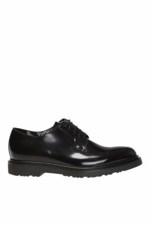 Leather derby shoes od Paul Smith