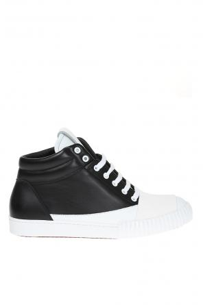 Leather high-top sneakers od Marni