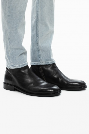 'billy' leather ankle boots od PS Paul Smith