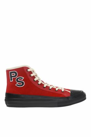 Patched high-top sneakers od Paul Smith