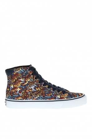 'vulcano' patterned high-top sneakers od Kenzo