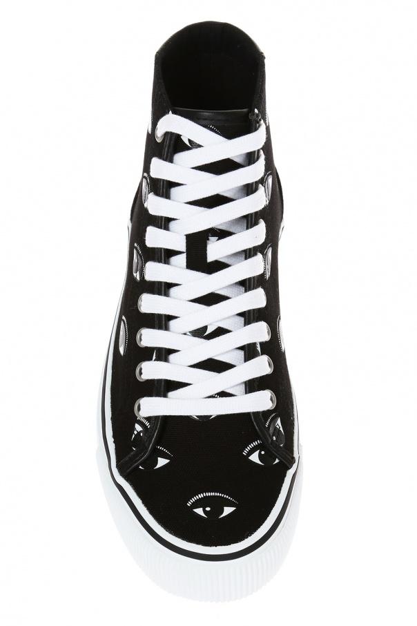 dd30b261 Vulcano' patterned high-top sneakers Kenzo - Vitkac shop online