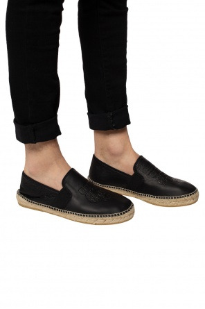 'leather tiger' espadrilles od Kenzo