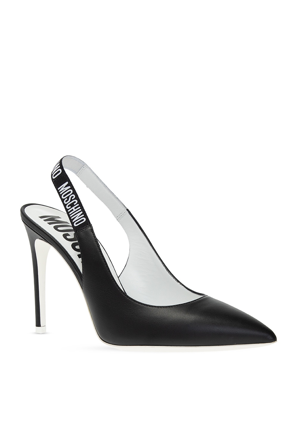 Moschino Stiletto pumps with logo