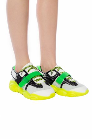 5978fb3508546 Sneakers with logo od Moschino ...