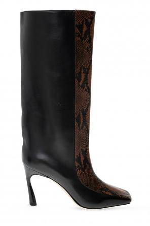 'mabyn' heeled knee-high boots od Jimmy Choo