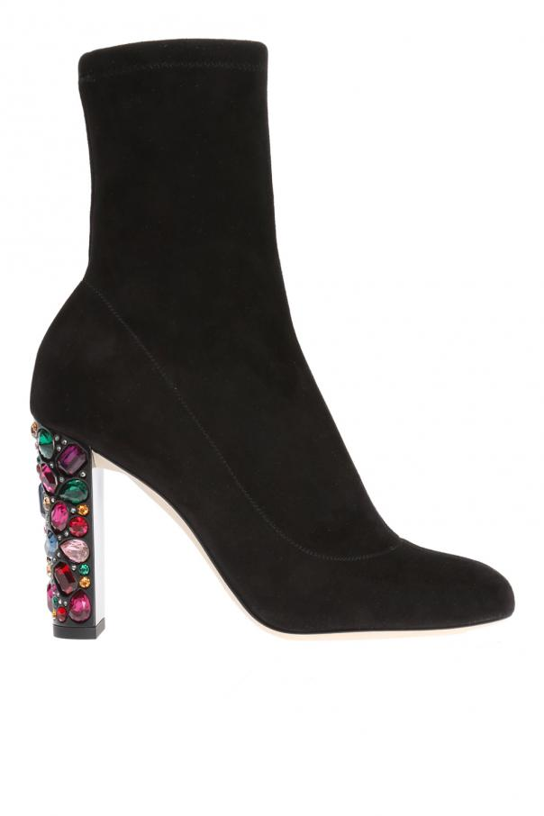 'maine' heeled ankle boots od Jimmy Choo