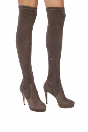 'mason' over-the-knee platform boots od Jimmy Choo