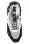 Moschino Logo-embroidered sneakers